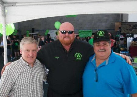 Grand opening of harshorn paving_4813